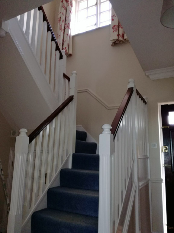 Painted Staircases in Devizes