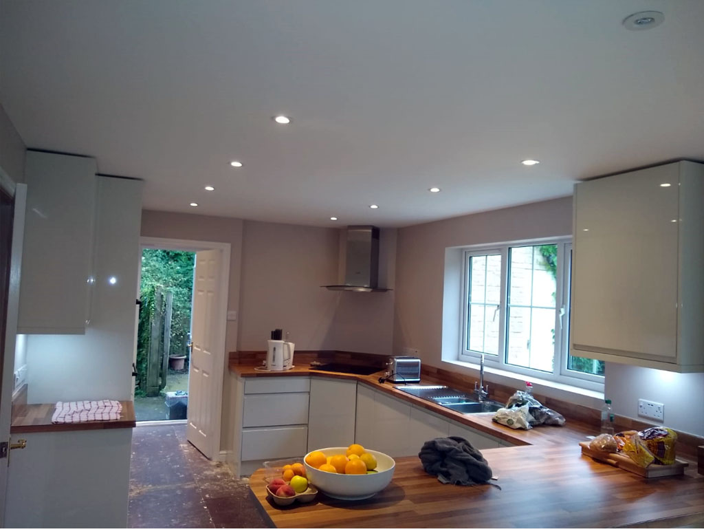 Painted Kitchen in Chippenham